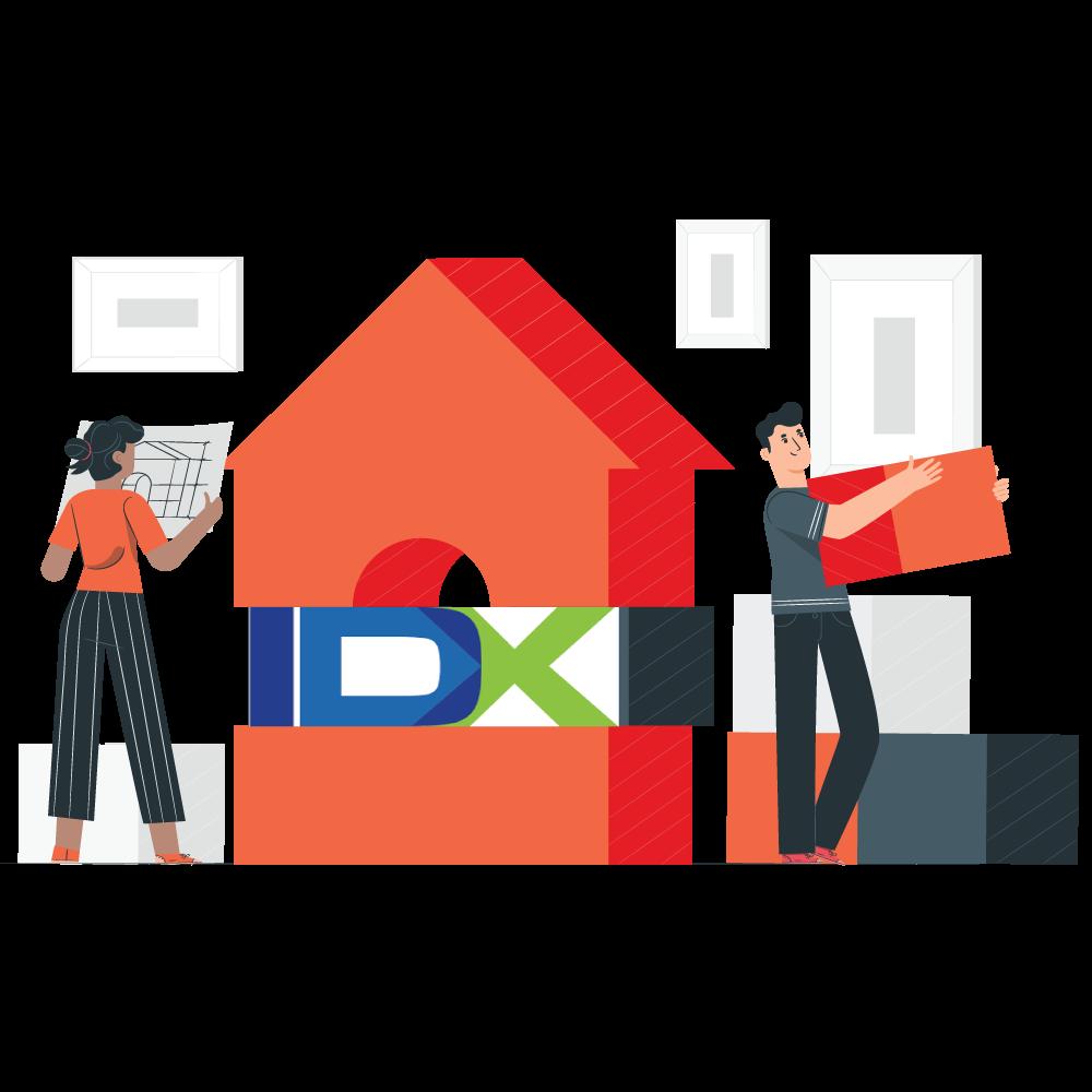 real estate idx