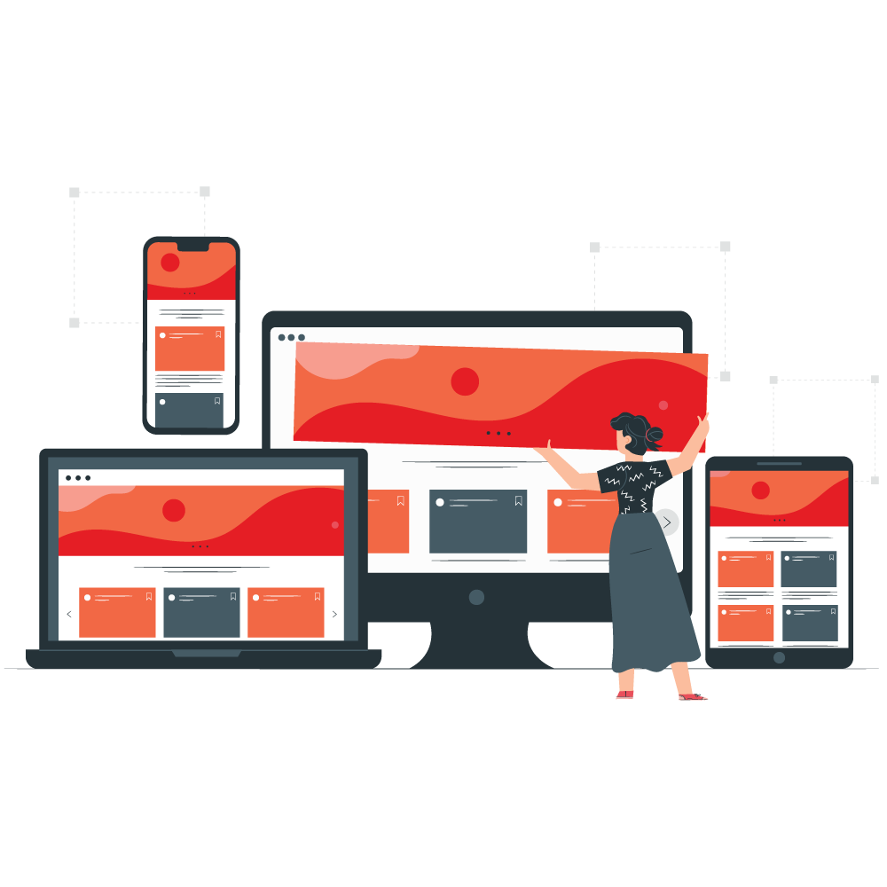 Responsive real estate website
