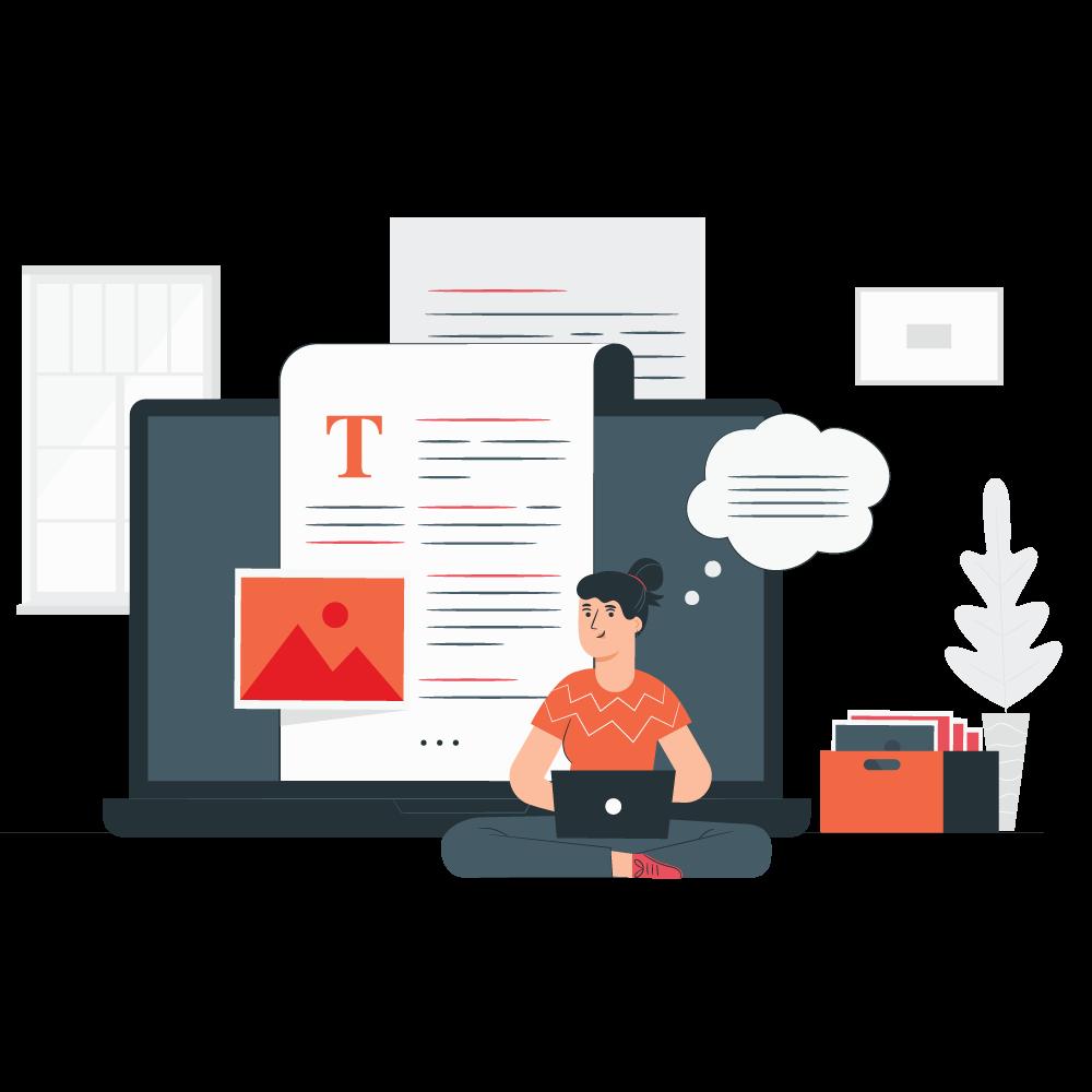 realtor website blog design
