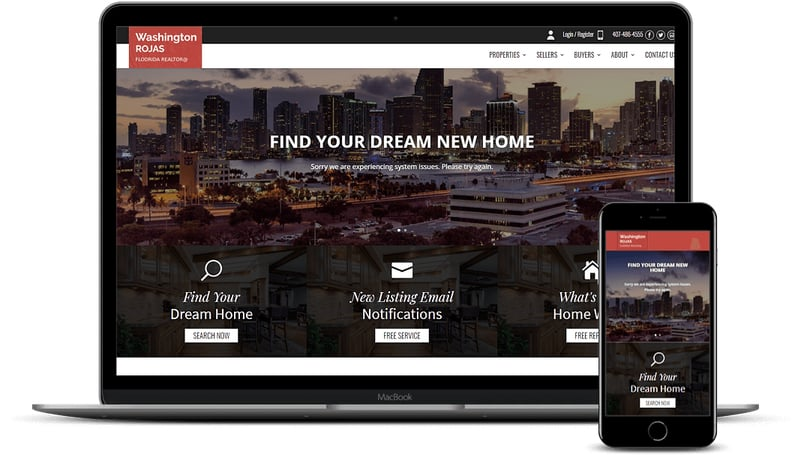 IDX website design