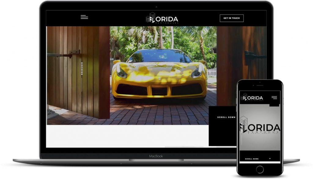 WordPress real estate website design