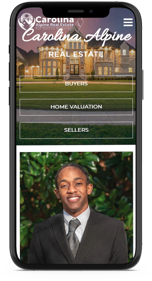 Mobile responsive website design for real estate agents