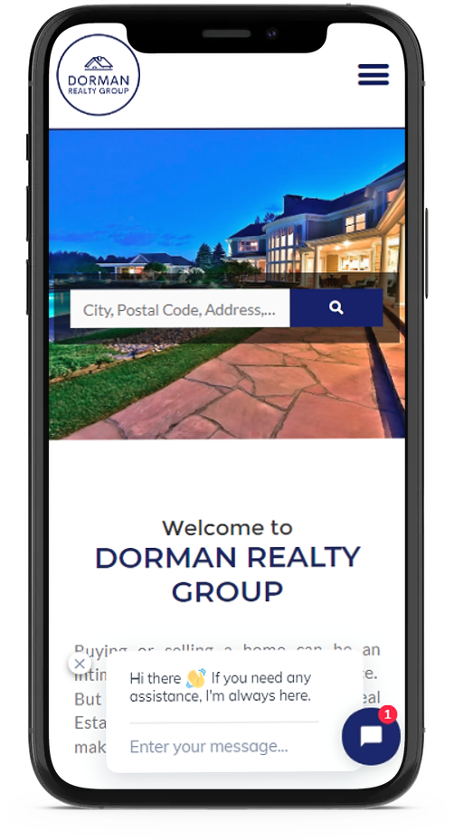 mobile responsive real estate web design company