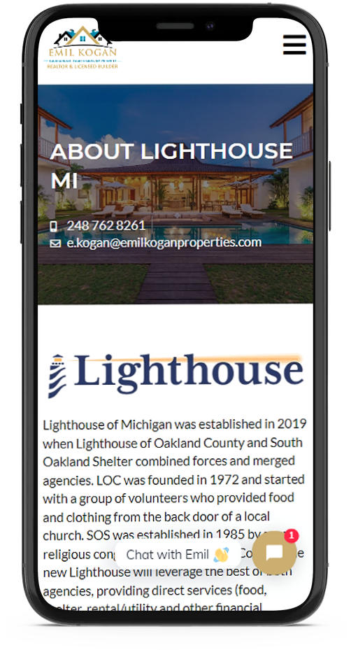 mobile responsive web design for real estate agents