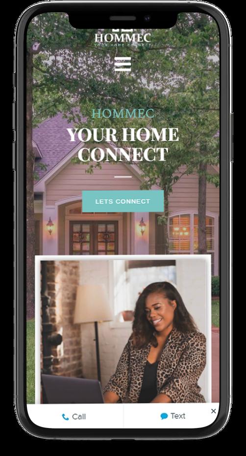 mobile responsive WordPress real estate website design
