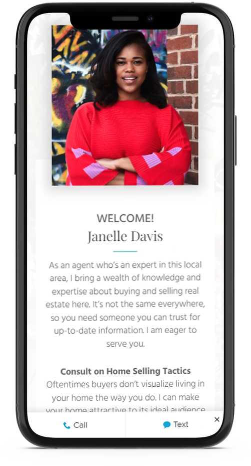mobile responsive IDX web design