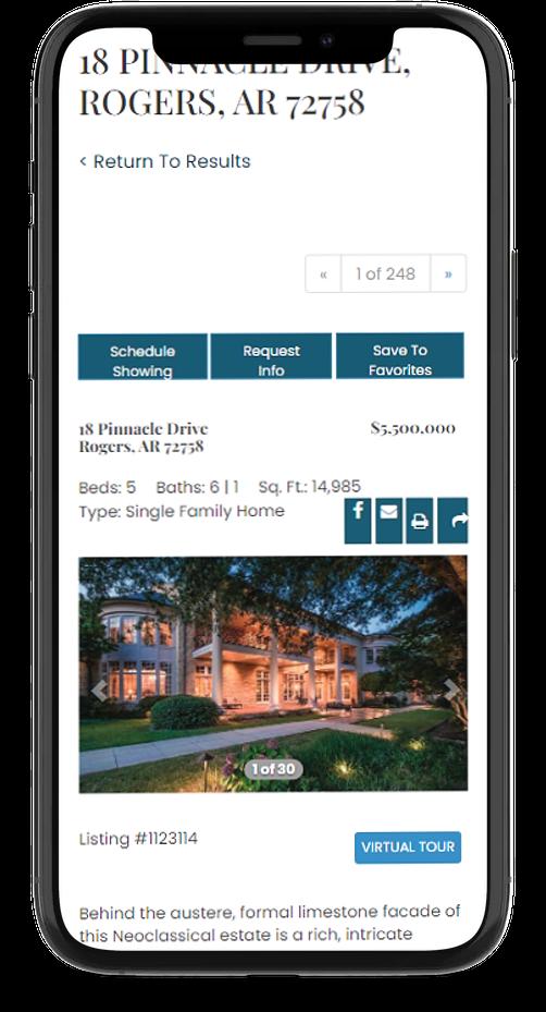 mobile responsive real estate web developers