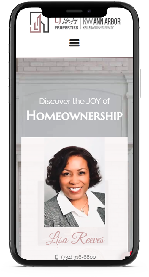mobile responsive web design for real estate agents