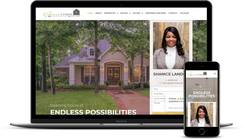 real estate web developers
