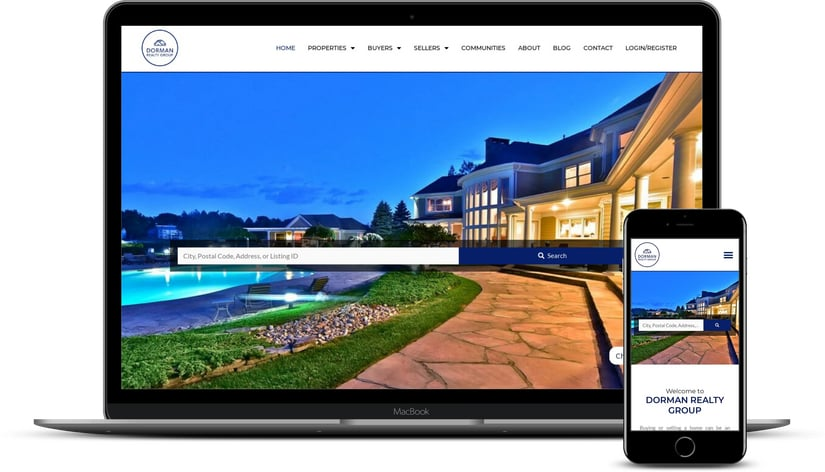 real estate web site design