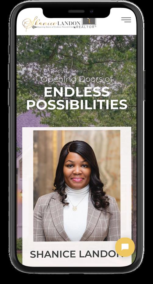 Mobile Responsive real estate website design