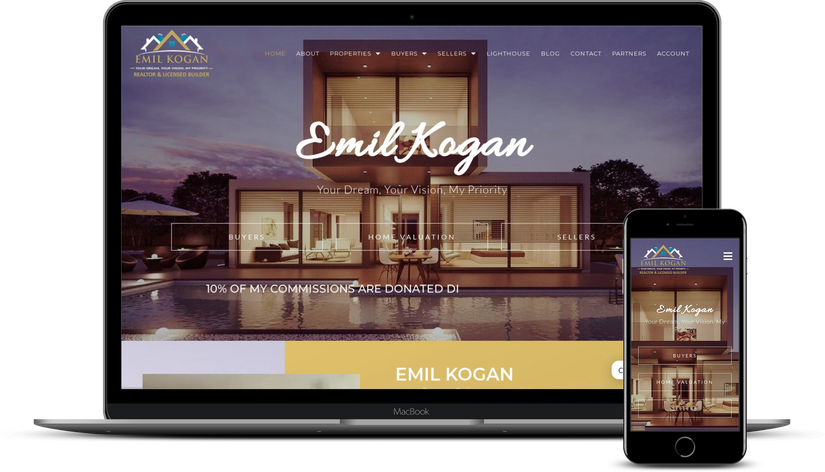 web design for real estate agents